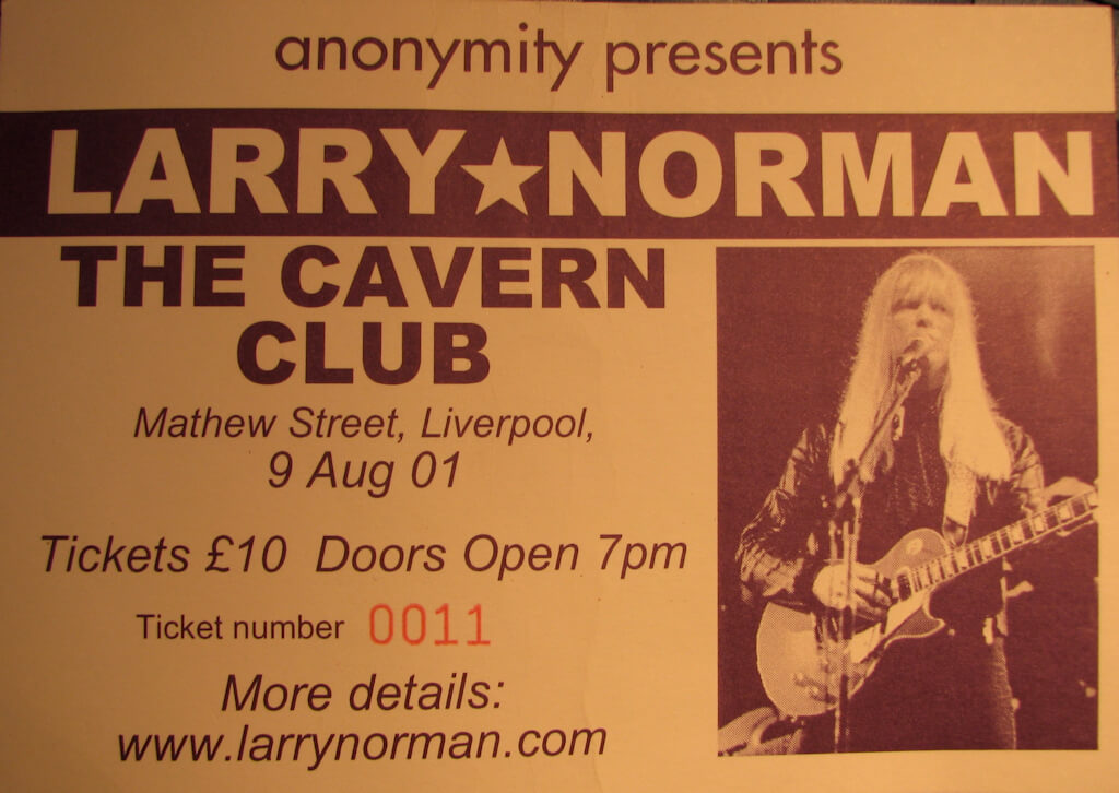 Larry Norman (c) @markheybo, published under CC 2.0 license